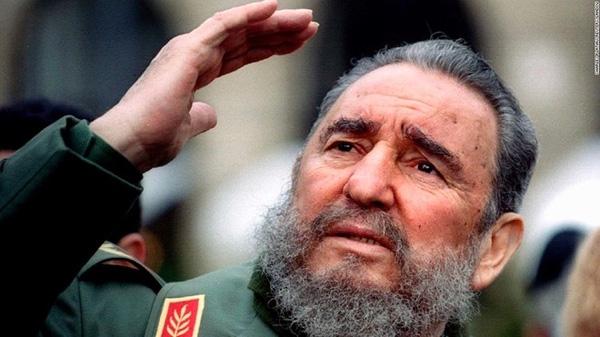 Lãnh tụ vĩ đại của Cuba Fidel Castro . Ảnh:Reuters.