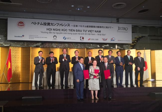 Lễ ký kết dưới sự chứng kiến của Thủ tướng Nguyễn Xuân Phúc.