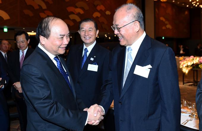 Thủ tướng hoan nghênh các nhà lãnh đạo doanh nghiệp Nhật Bản đã quan tâm đến Việt Nam.