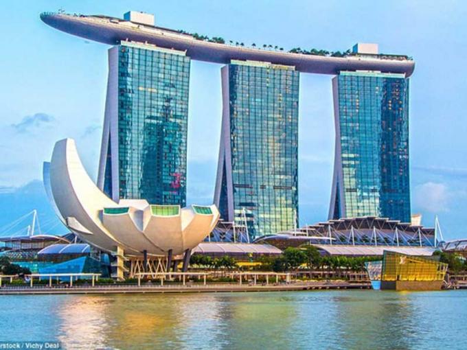 Khu phức hợp Marina Bay Sands. Ảnh: Internet.