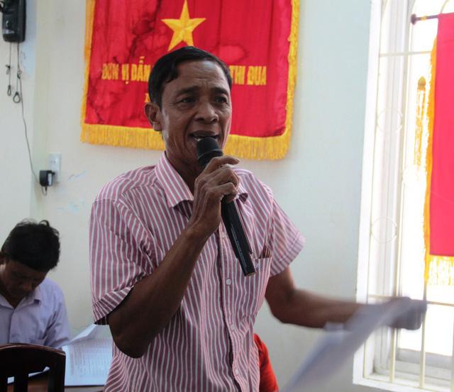 Ngư dân Trần Định Sơn, yêu cầu Công ty TNHH MTV Nam Triệu phải thay máy mới hoàn toàn.
