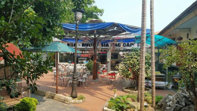 Nhà hàng Phù Đổng được Công ty đầu tư, xây dựng với chi phí lên tới hàng chục tỷ đồng.