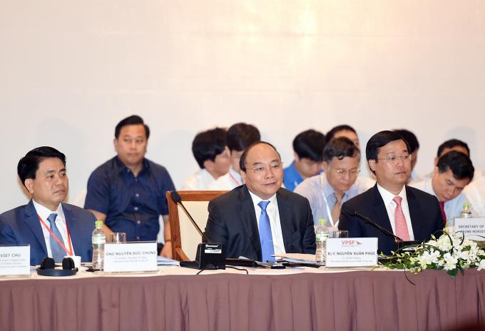 Thủ tướng Nguyễn Xuân Phúc khẳng định quyết tâm chính trị, kỳ vọng của Đảng, Nhà nước về vai trò, vị thế của kinh tế tư nhân.