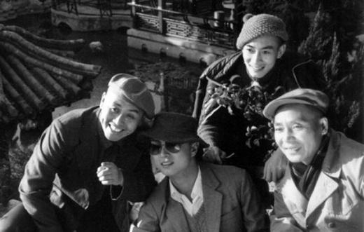 Bốn thầy trò Đường Tăng chụp ảnh cùng nhau lúc nghỉ ngơi. Ảnh: internet.
