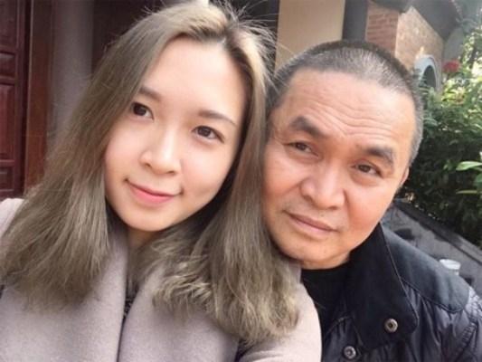 Xuân Hinh luôn tự hào về cô con gái xinh đẹp và giỏi giang của mình. Ảnh: internet.