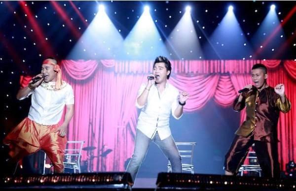 MTV là nhóm nhạc nhận được nhiều sự yêu mến của khán giả với các ca khúc mang phong cách rock như Sóng Tình...Ảnh: internet.