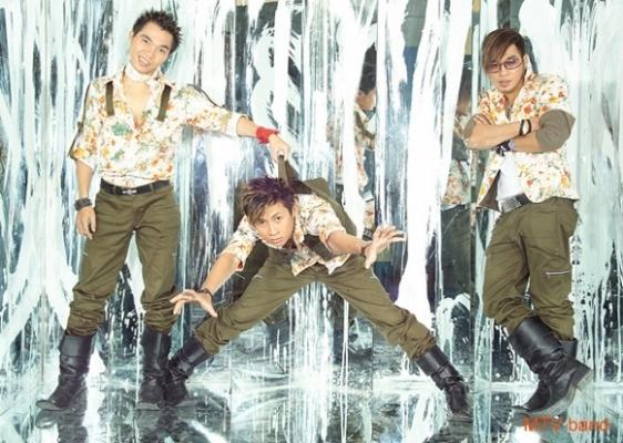 4 chàng trai trong nhóm MTV. Ảnh: internet.