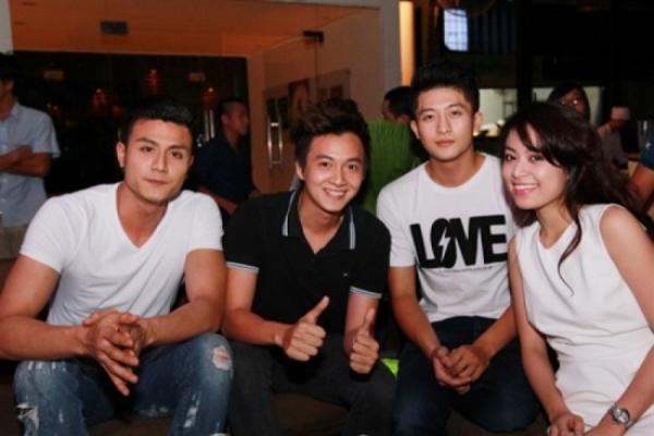 Hoàng Thùy Linh và Vĩnh Thụy thân thiết với nhau kể từ sau khi đóng chung bộ phim Thần tượng (2013). Ảnh: internet.