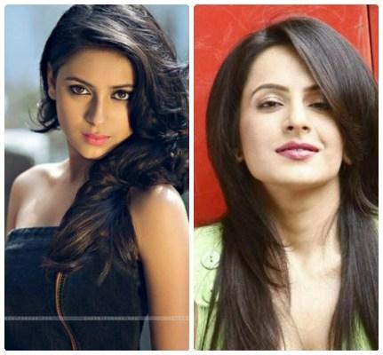 2 người đẹp đã thay nhau đảm nhiệm vai nữ chính Anandi. Ảnh: internet.