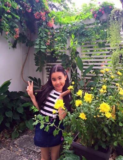 Cô con gái cưng của MC Quyền Linh. Ảnh: internet.