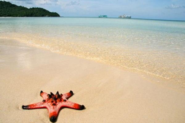 Bãi sao là bãi biển đẹp nhất Phú Quốc.