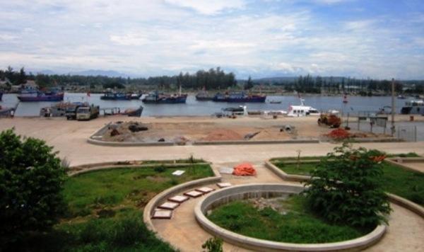 Cảng Sa Kỳ Quảng Ngãi.