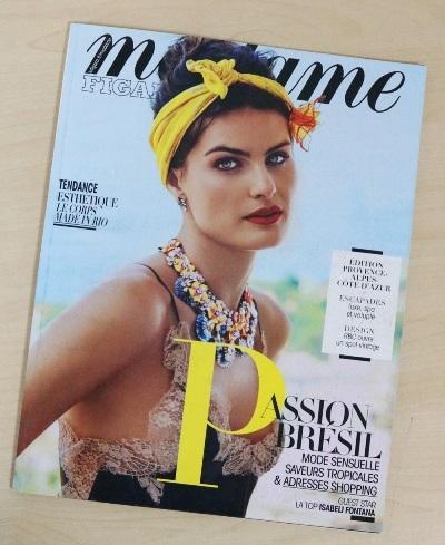 Madame Figaro là tạp chí dành cho những phụ nữ quyền lực khó tính nhất tại Pháp.
