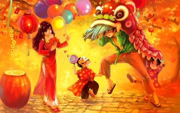Theo tích xưa, Trung Thu được bắt nguồn từ thời nhà Đường, thời vua Duệ Tôn.