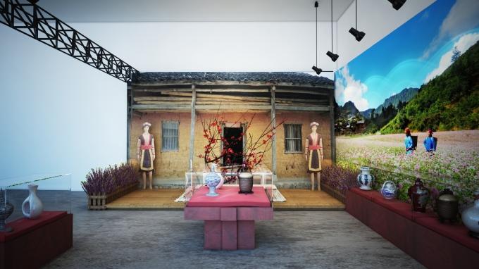 Trước đó, ngày 7/10 tại Hà Nôi, buổi triển lãm Lễ hội - Bản sắc, quá khứ và hiện tại các vùng miền quê hương Việt Nam đã diễn ra và thu hút được đông đảo sự quan tâm chú ý của nhiều người.