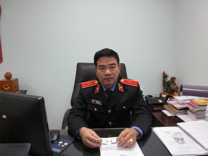 Ông Lại Viết Quang - Phó thủ trưởng Cơ quan điều tra (Viện kiểm sát nhân dân tối cao).