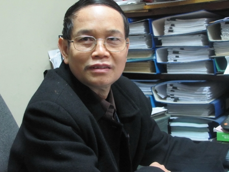 Ông Nguyễn Văn Hoàn, Phó Vụ trưởng Vụ pháp luật Hinh sự - Hành chính Bộ Tư pháp.
