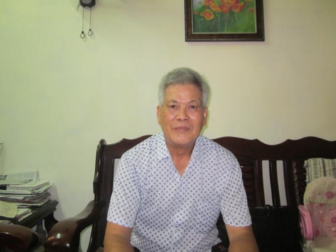 Ông Nguyễn Văn Lý trao đổi với PV Pháp luật Plus.