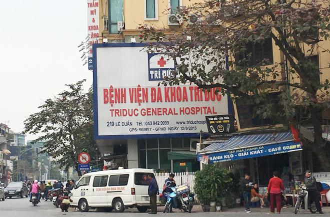 Bệnh viện Trí Đức Hà Nội.