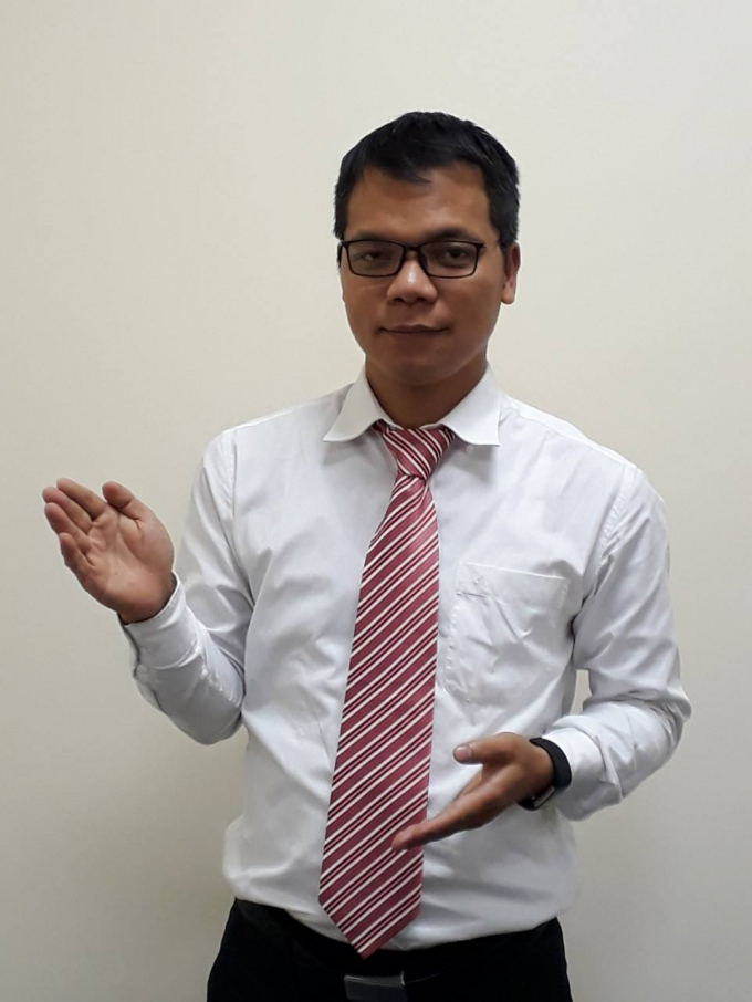 Luật sư Phạm Thanh Tuấn.