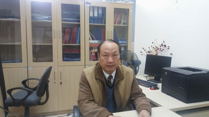 TS Lê Đăng Doanh, Trưởng bộ môn Luật Hình sự Trường Đại học Luật Hà Nội (Ảnh Ly Ly).