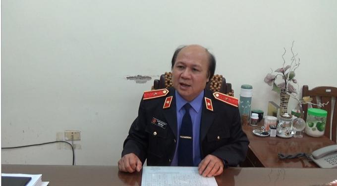 Ông Phạm Văn An, Phó vụ trưởng Vụ thực hành quyền công tố xét xử hình sự Viện kiểm sát (VKSND) tối cao.