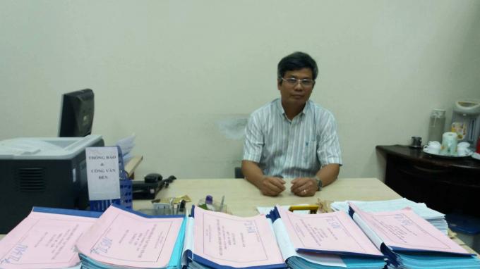 Tiến sĩ Lý Văn Quyền trao đổi với PV Phapluatplus.vn.