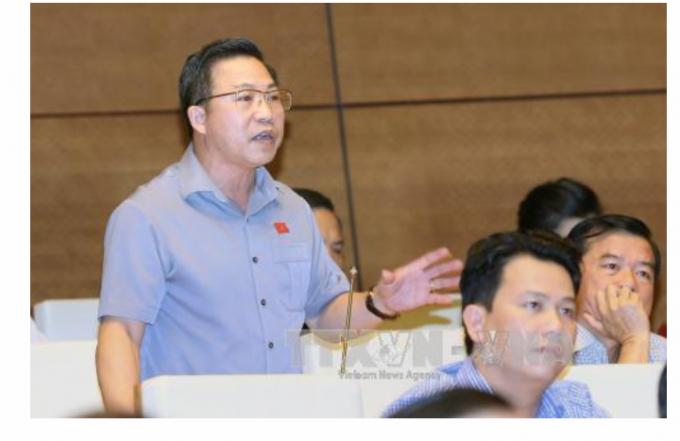 ĐBQH Lưu Bình Nhưỡng(ảnh TTXVN).