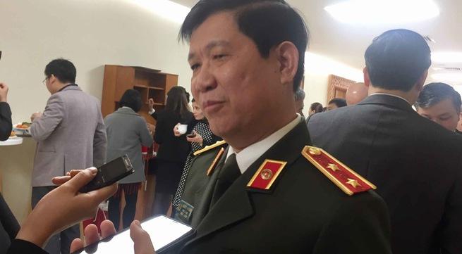 Chiều ngày 1/10, về vụ chợ Long Biên, ông Nguyễn Văn Sơn, Thứ trưởng Bộ Công an đã có trả lời về thông tin nghi vấn có sếp công an