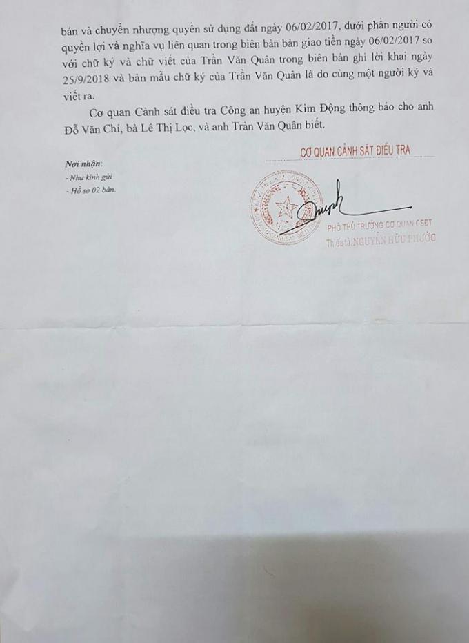 Hưng Yên: Công an huyện Kim Động có