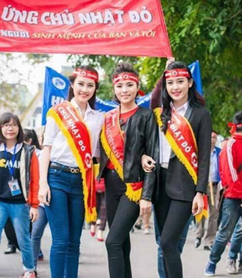 Nhiều hoa hậu, ca sĩ, cầu thủ nổi tiếng sẽ đến ủng hộ Chủ nhật đỏ tại ĐH Bách Khoa HN ngày 17/1