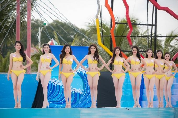 """Kết quả phần thi""""Người đẹp biển"""" được công bố trong đêm chung kết toàn quốc diễn ra ngày 28-8 tại TP.HCM vớisự xuất hiện của ca sĩ Hàn Quốc Bi Rain,truyền hình trực tiếp trên kênh VTV9."""