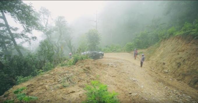 Địa hình khó khăn của xã Pa Cheo.