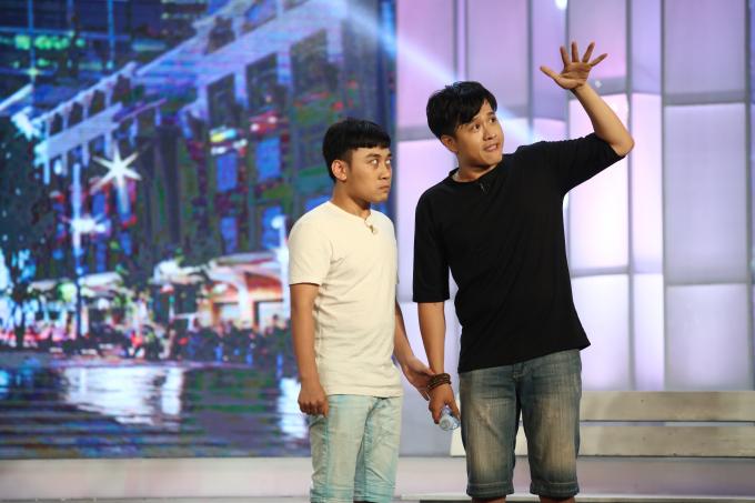 Huy Nam, Hải Yến giành giải nhất tuần tại Cặp Đôi Hài Hước