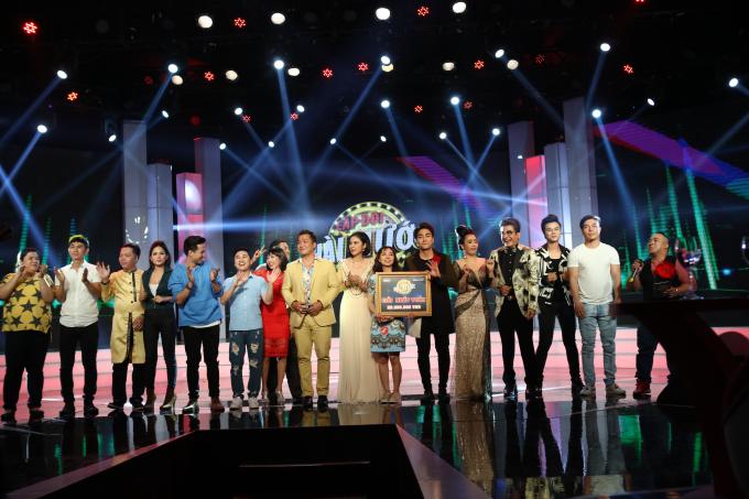 Hải Yến, Huy Nam giành giải nhất tuần.
