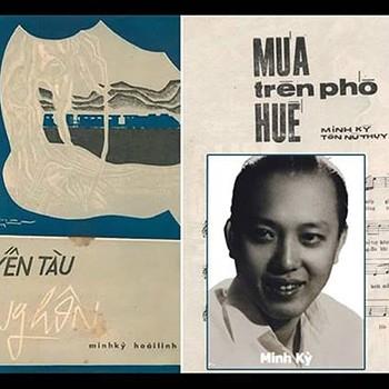Nhạc sĩ Minh Ký.
