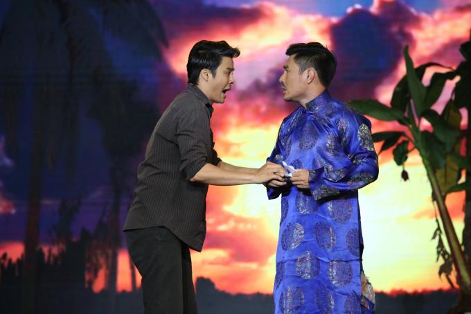 Võ Minh Lâm kết hợp với Bảo Lâm trong Cặp đôi hài hước.