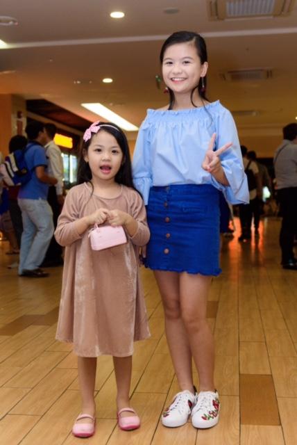 Hoa hậu Trần Thị Quỳnh và con gái dễ thương hết nấc tại sự kiện