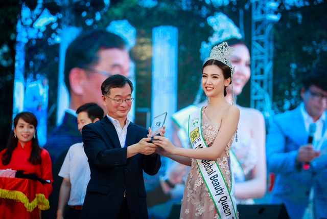 Hoa hậu Ngọc Duyên được chính quyền tỉnh Gangwon- nơi đầu tiên của Châu Á đăng cai Thế vận hội mùa đông, bổ nhiệm làm đại sứ quảng bá sự kiện.
