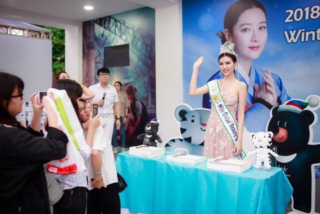 Ngọc Duyên được Hàn Quốc bổ nhiệm làm đại sứ quảng bá Olympic mùa Đông 2018