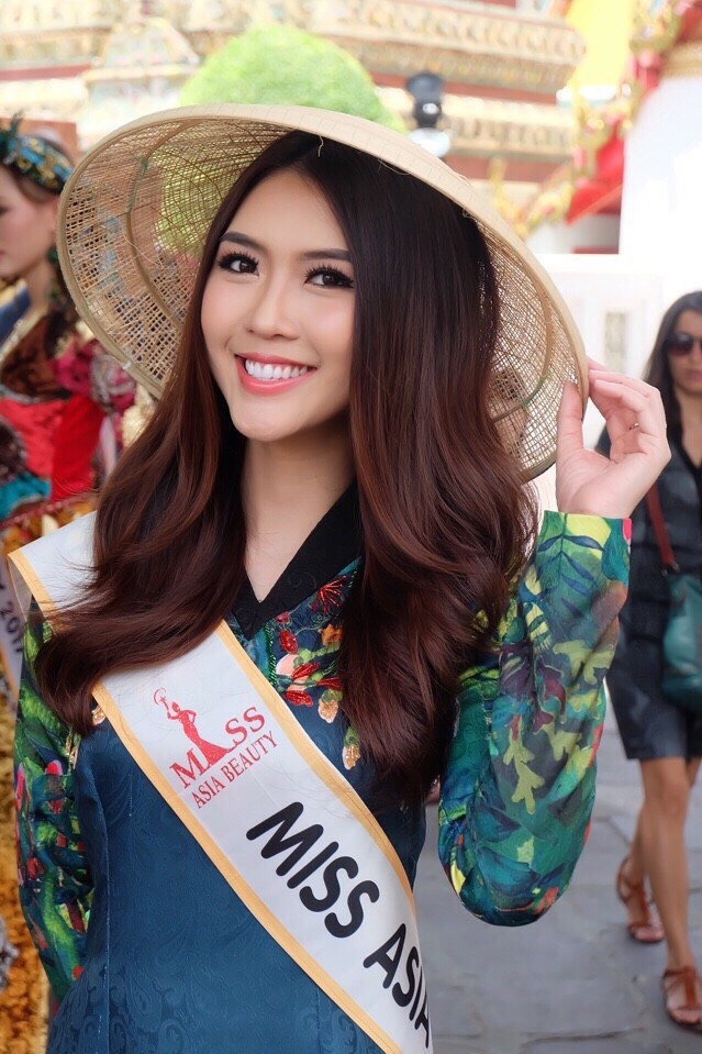 Đại diện Việt Nam dự thi Miss Asia Beauty 2017 Tường Linh.