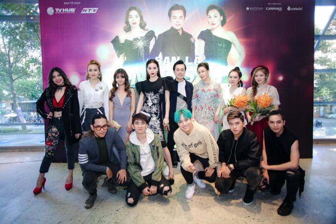 Ngoài 3 giám khảo chủ chốt, các Giám khảo khách mời của chương trình sẽ là Ca sĩ Hari won, Nhạc sỹ Hoàng Touliver; Nhạc sỹ Phương Uyên.