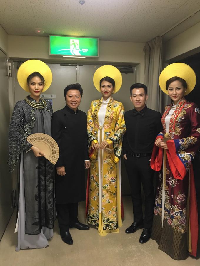 Phạm Hương, Lệ Hằng, Khánh Ngân thích thú thăm quan Nhật Bản