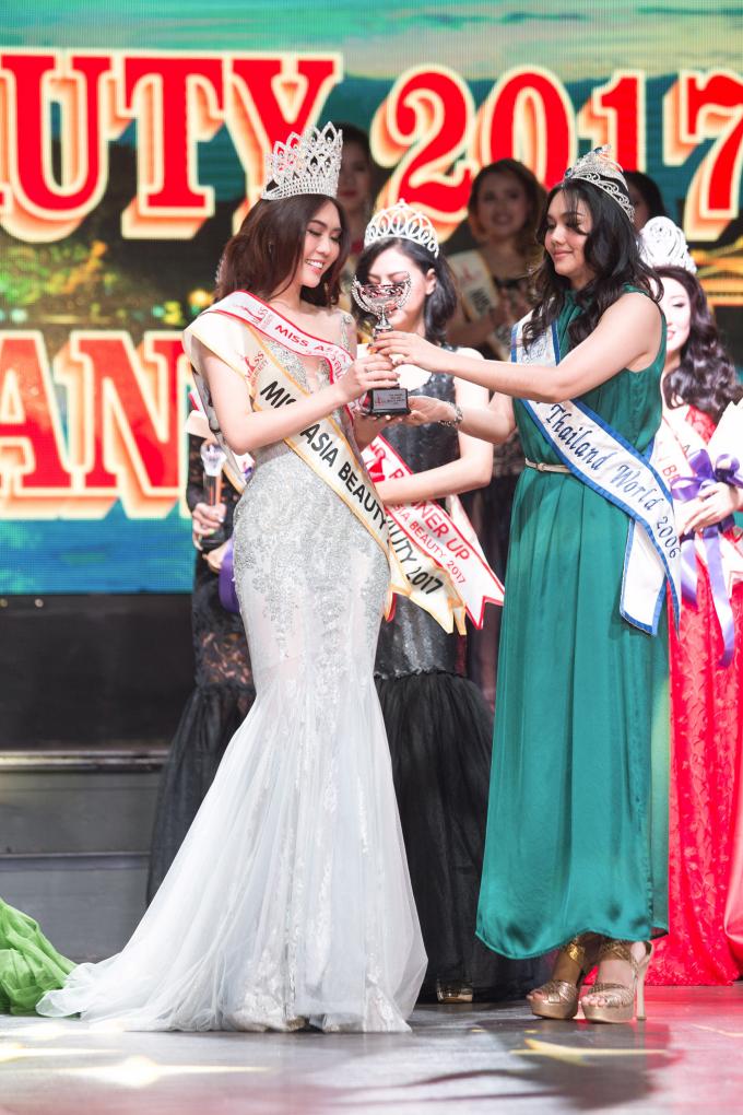 Người đẹp trong cuộc thi Hoa hậu Sắc đẹp Châu Á 2017.