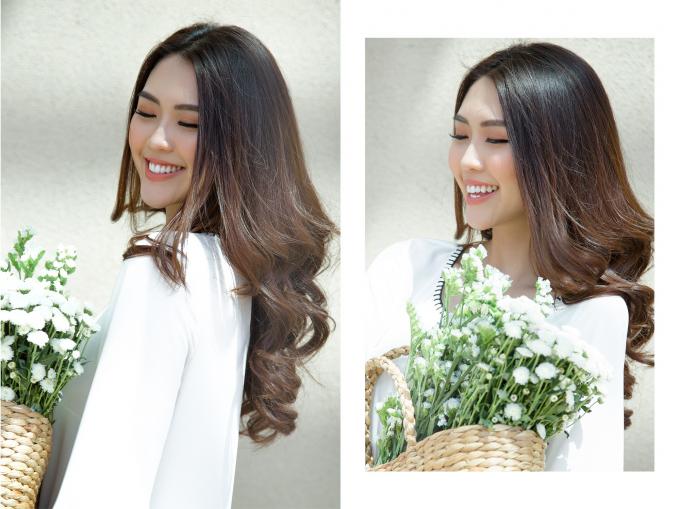 """Hoa hậu Tường Linh đầy năng lượng trước khi vào """"nhà chung"""" The Face"""