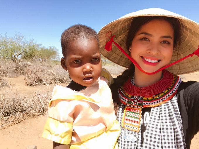 Hoa hâu Phạm Hương đã có những cảm nhận sâu sắc về vùng đất và con người ở Kenya.