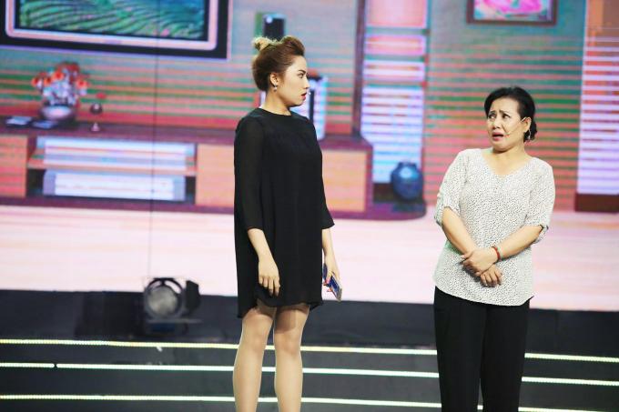 Châu Ngọc Tiên - Tiết mục Hiếu Đạo diễn cùng mẹ Ngọc Huyền Châu.