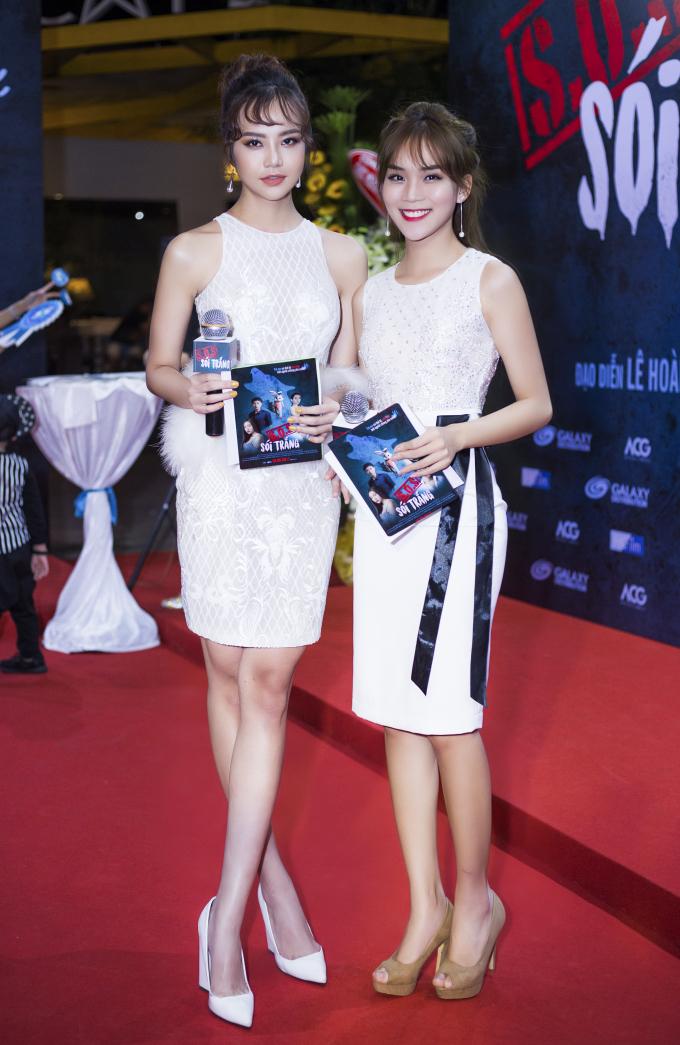 Kiều Ngân và Minh Phương làm MC cho chương trình.