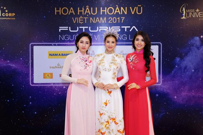 Hoa hậu Hoàn vũ Việt Nam 2017 được tổ chức từ ngày 30/06/2017 đến ngày 02/12/2017.