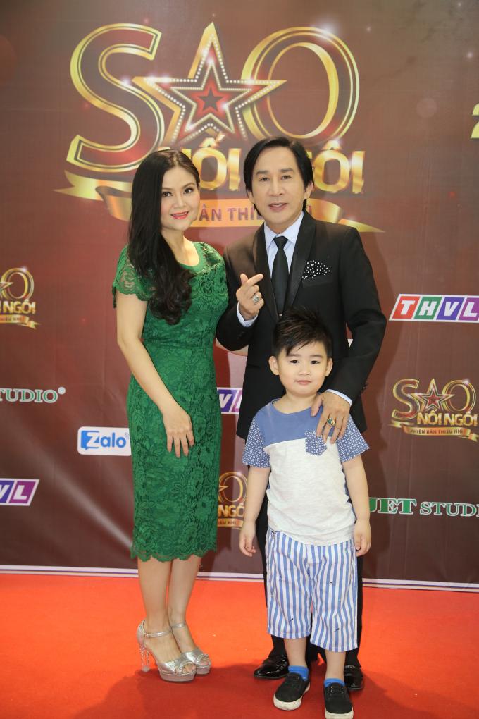 Gia đình nghệ sĩ Kim Tử Long.
